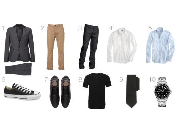 10 timeless wardrobe essentials for men